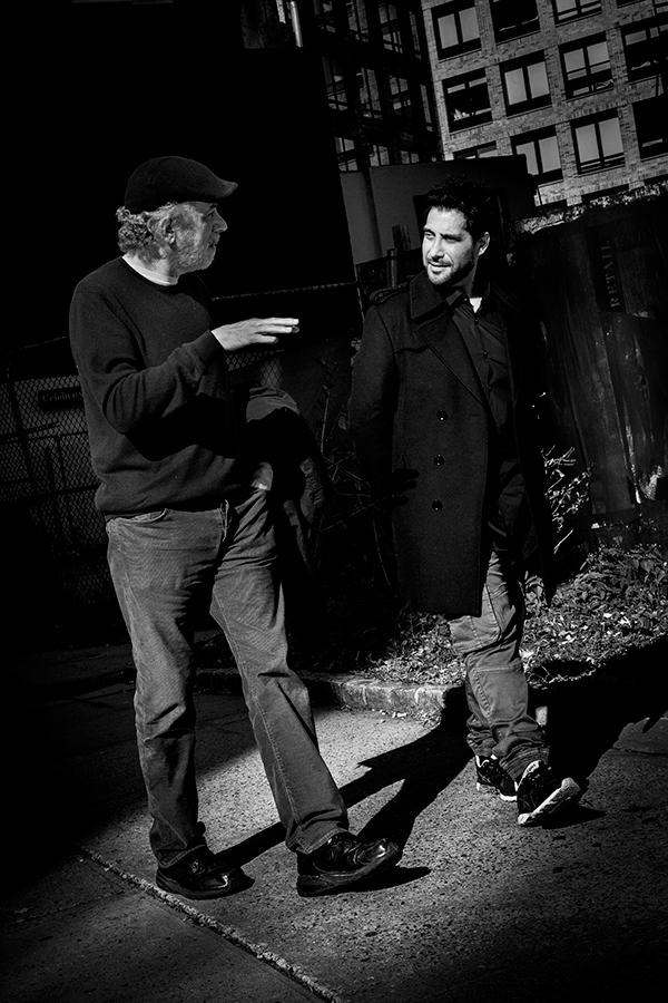 NIÑO JOSELE WITH FERNANDO TRUEBA. NY